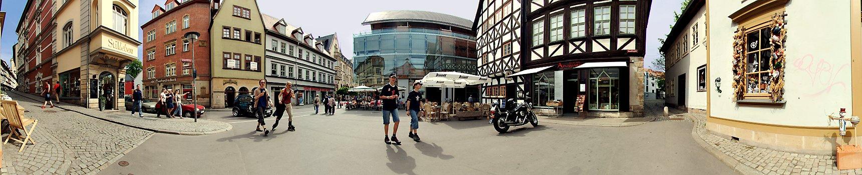 Stilleben Erfurt benediktsplatz erfurt stadtpanorama