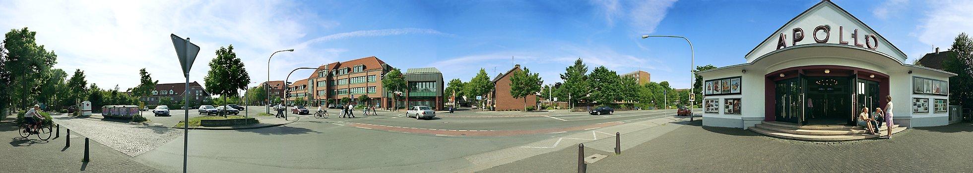 Apollo Kino Ibbenbüren Stadtpanorama