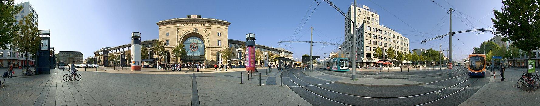 Central Station Mannheim Germany
