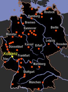 Map Koblenz Germany on bonn germany map, weil der stadt germany map, mosel germany map, rothenburg ob der tauber, taunus germany map, colditz germany map, lutz germany map, kassel germany map, heligoland germany map, heidelberg germany map, cologne germany map, hellenthal germany map, rhineland germany map, lampertheim germany map, straubenhardt germany map, esens germany map, babelsberg germany map, runkel germany map, austin germany map, wannsee germany map,