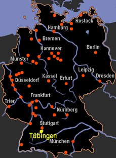 tbingen map germany
