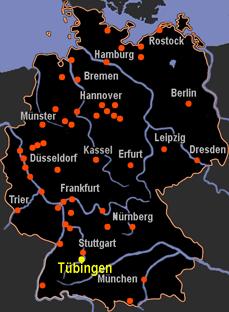 tbingen map germany